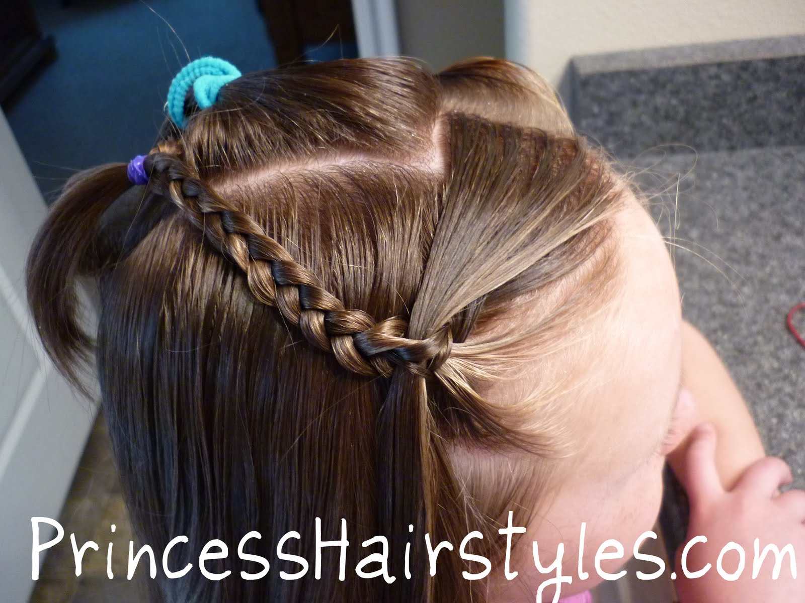 No French Braid Waterfall Braid Hairstyles For Girls Princess Hairstyles