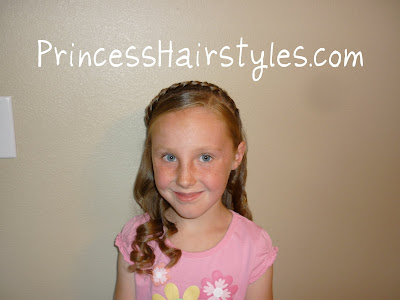 hairstyle for a princess