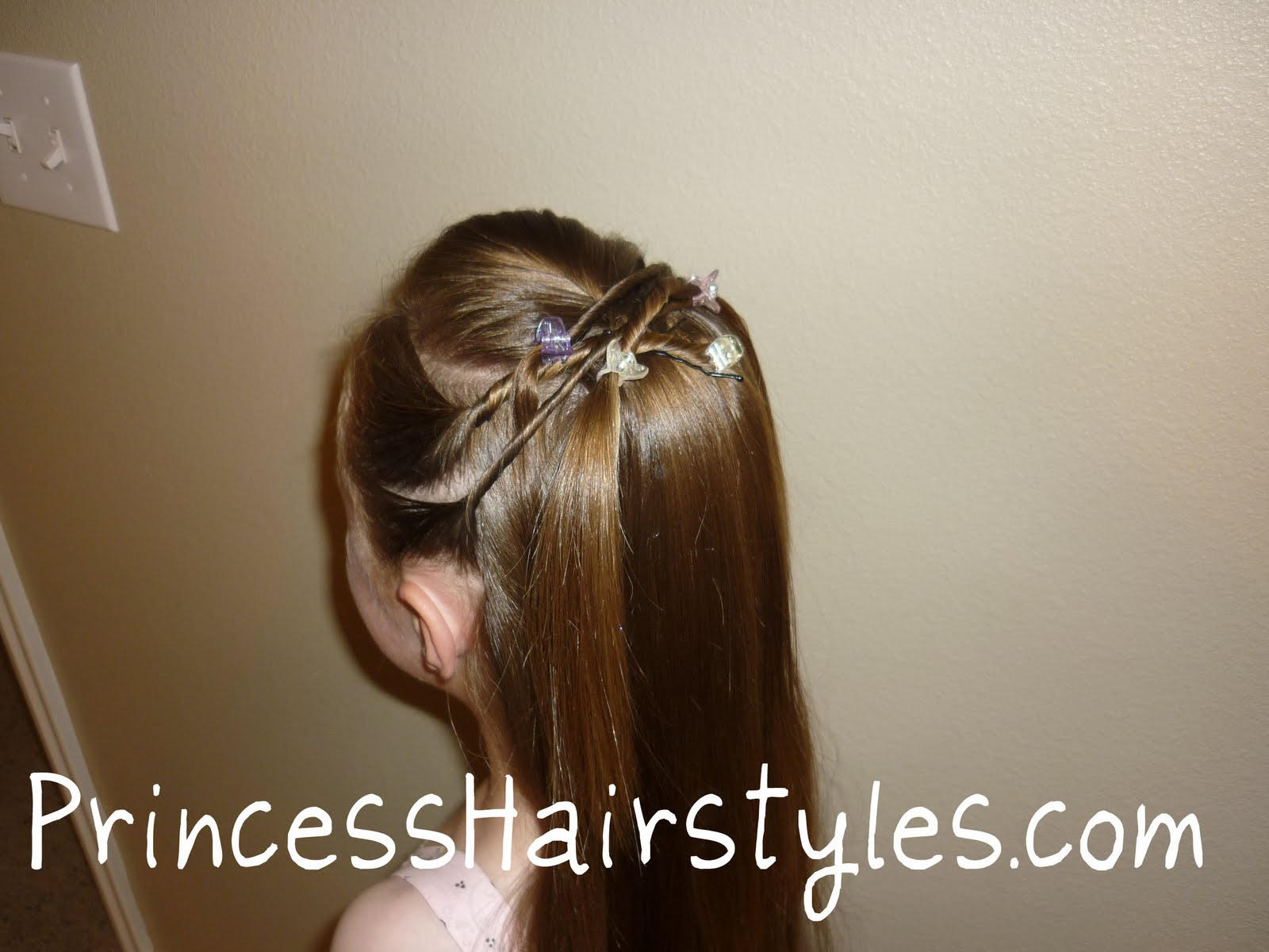 Tween Twists Princess Hairstyle