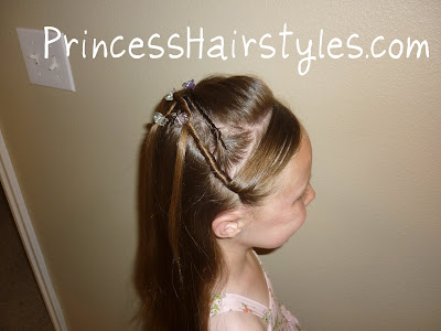 easy hairstyle for tweens