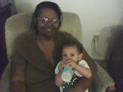 Angela with grandson, Xavier