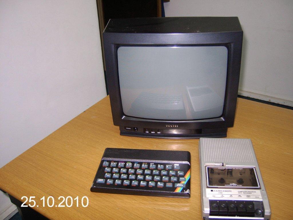 Águas Mornas: Ainda o ZX Spectrum 48K