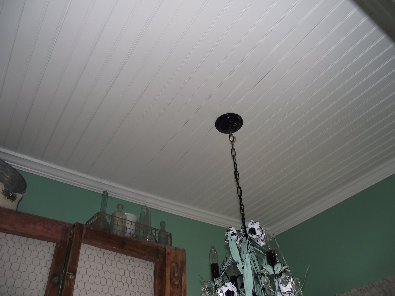 Serendipity Chic Design Putting Up A Bead Board Ceiling Tutorial