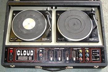 Twin Decks Vintage Disco I Dj Disco Sound Lighting Hire