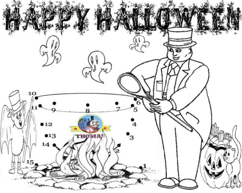 Halloween Bat Connect the Dots and Coloring Page, Commercial Use ... | 640x800