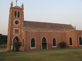 An early Capuchin church in Sialkot