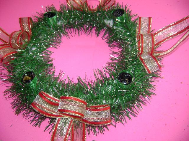 Aprende a hacer corona de adviento navide o con - Como decorar la corona de adviento ...