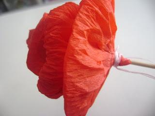 Rosas de Papel Crepé para Enamorados