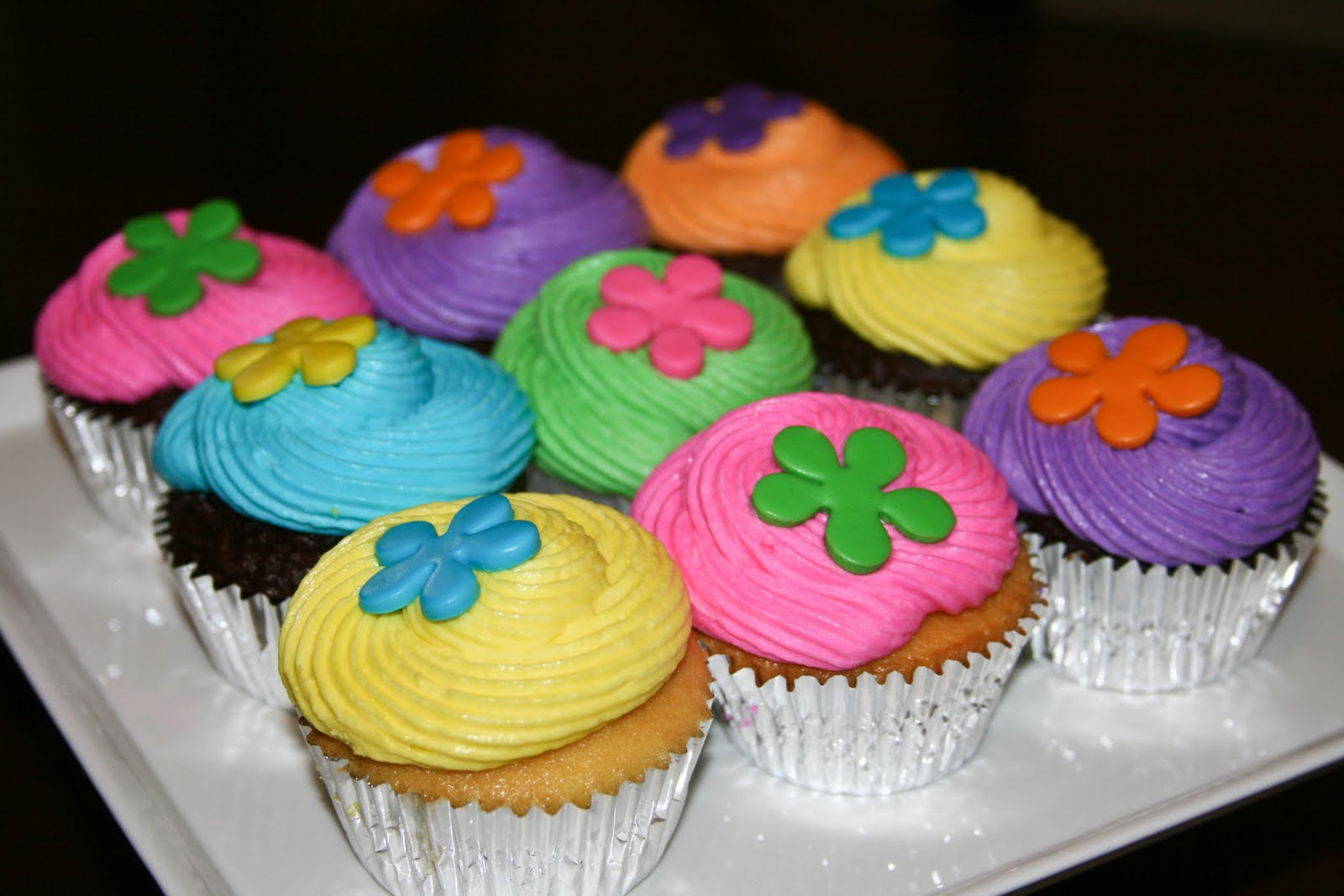 Trippy Birthday Cakes