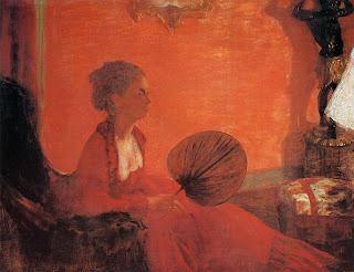 Edgar Degas Madame Camus