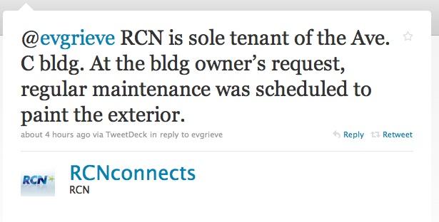 EV Grieve: A tweet from RCN