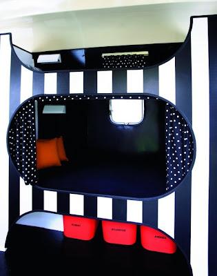 Design Shimmer: Camp in a car