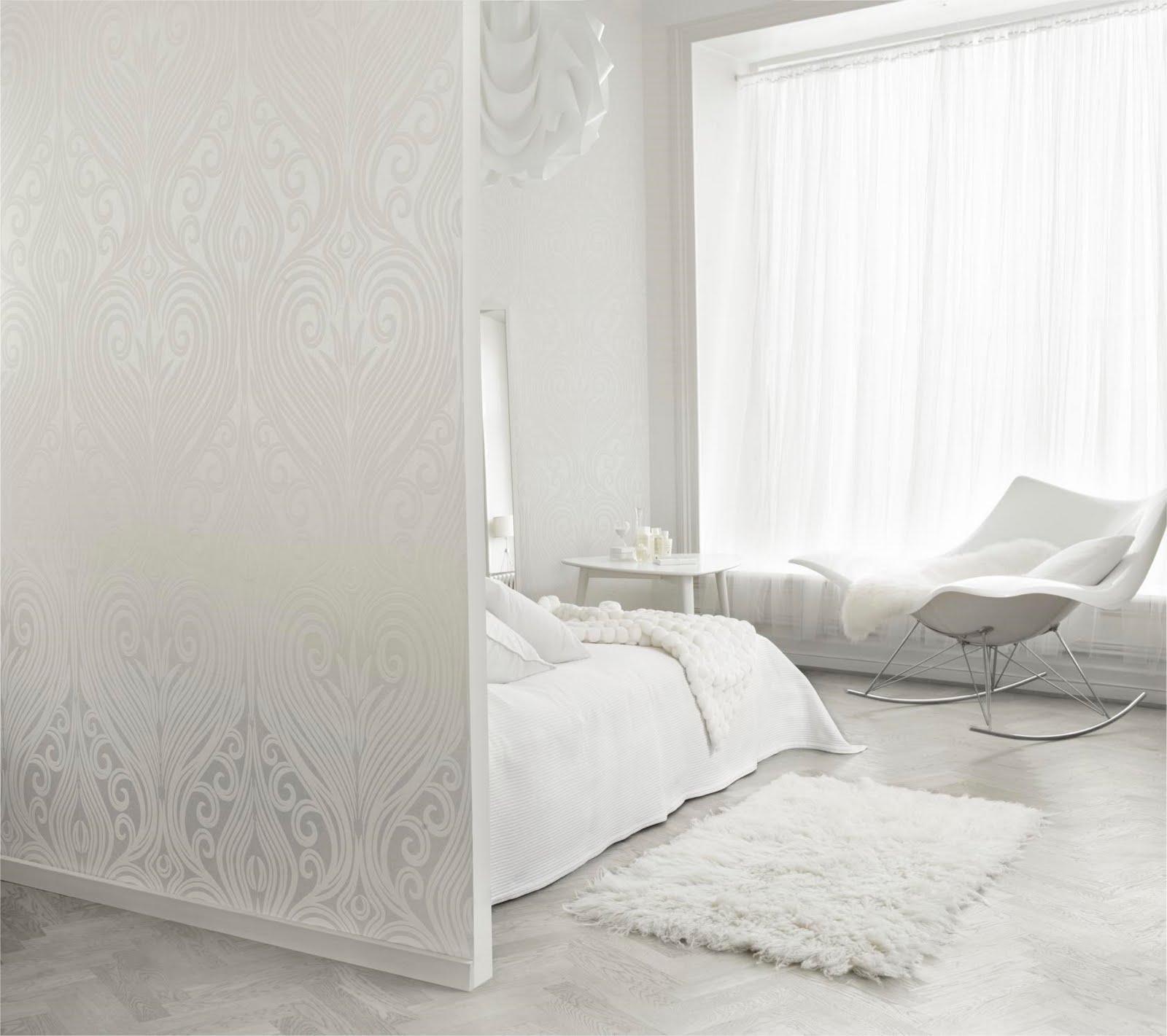 Design Shimmer: White Walls