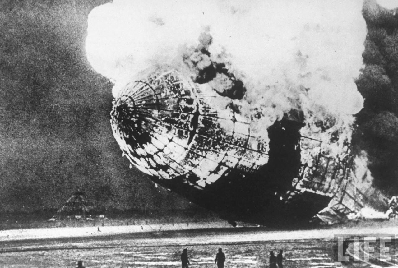 Mengenal Balon Udara Hindenburg, Berukuran Sebesar Kapal