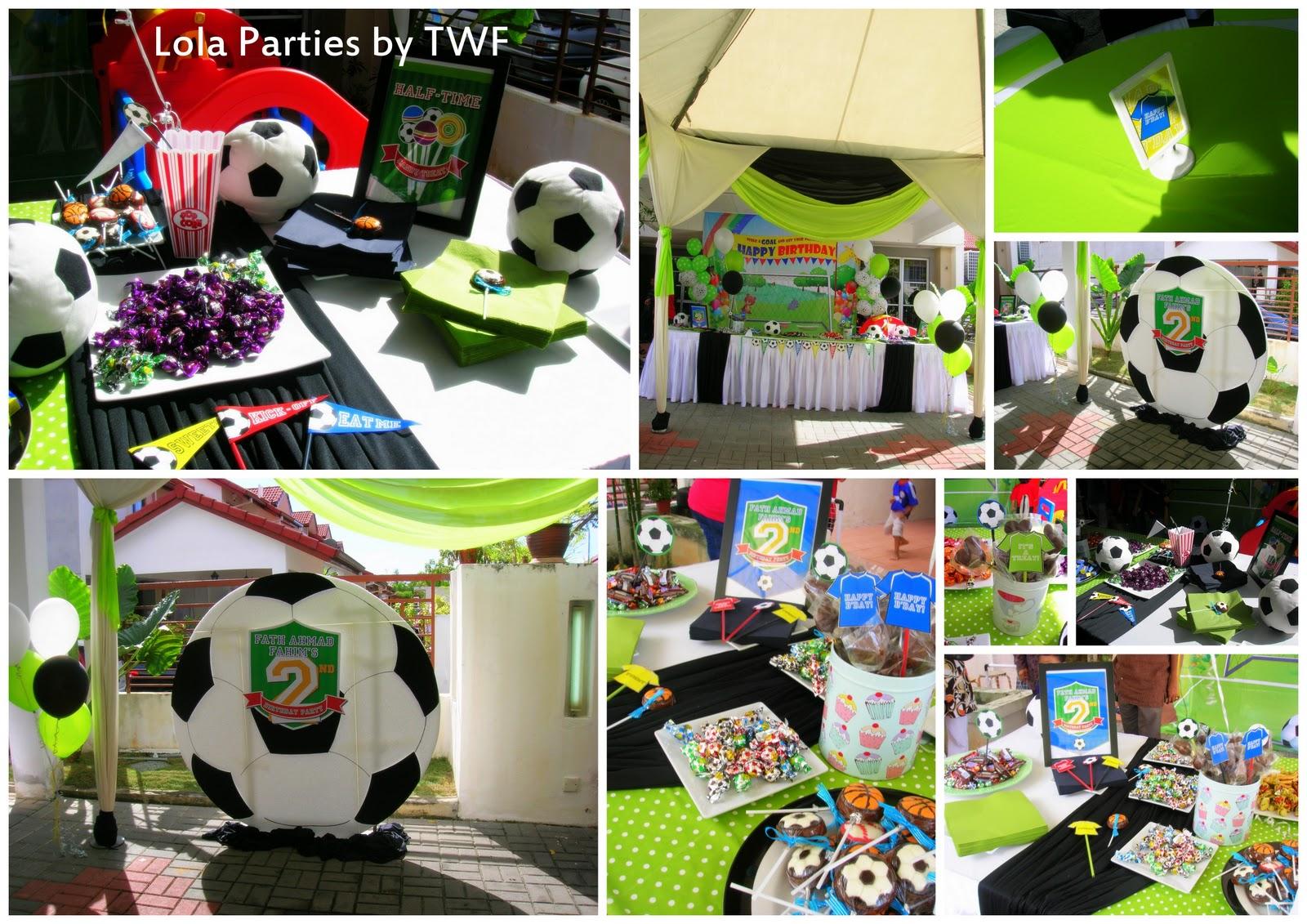 Soccer Themed Wedding Ideas: The Wedding Fairies: Soccer Theme Birthday Party