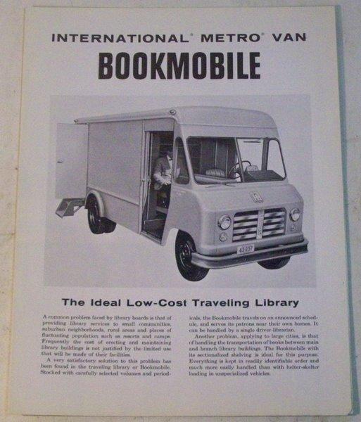 10engines: international harvester bookmobiles