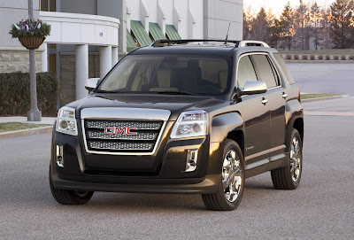 F5CarsBikes  August 2009 GMC s all new 2010 Terrain makes its world debut at the 2009 New York  International Auto Show  The Terrain is a five passenger crossover SUV that  blends