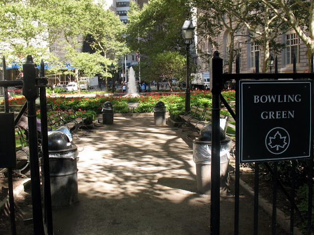 Mille Fiori Favoriti Bowling Green Park And The Wall