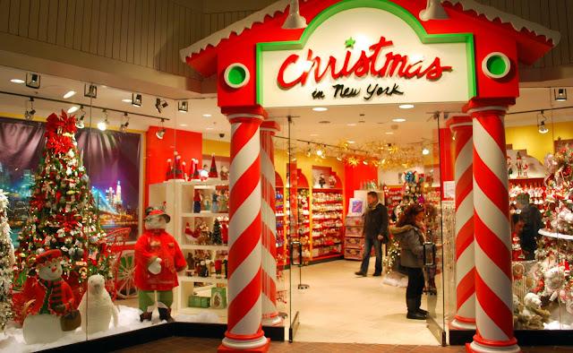 Mille Fiori Favoriti Christmas In Ny Ornament Shop
