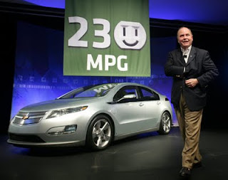 The Chevy Volt Expected To Hit Market In 2010 Is Claimed Achieve 230 M P G City Driving This Possible If So How Significant It