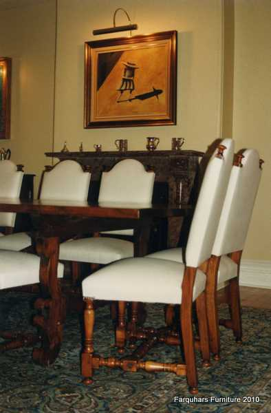 Spanish Style Dining Chairs Chair Pads Amp Cushions