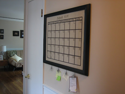 Living My Life On Purpose Diy Dry Erase Calendar