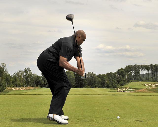 charles barkley golf swing gif