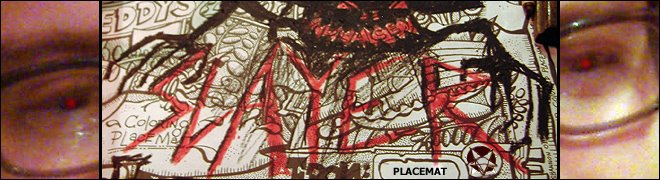 Slayer Placemat