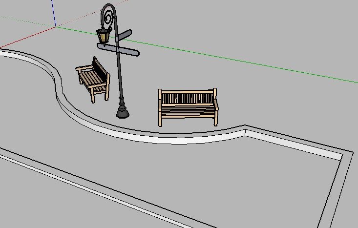 Retired sketchup blog a time for reflection for Mirror in sketchup
