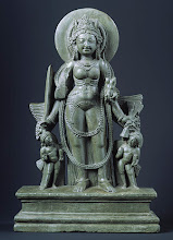 Standing Four-armed goddess Durga, late 9th century