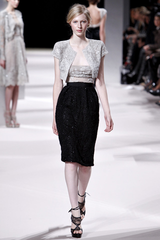 Spry On The Wall Elie Saab Couture Spring 2011