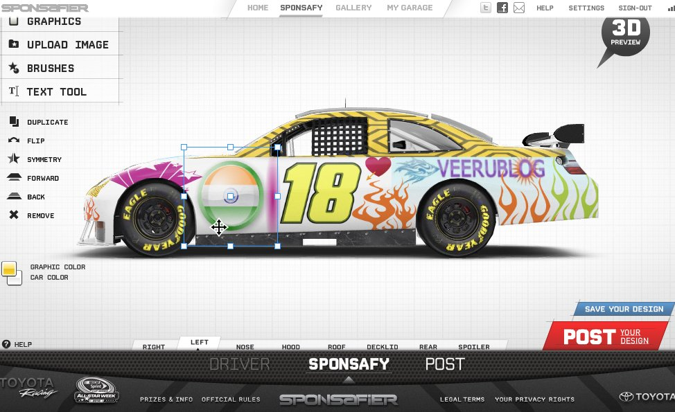 Design Your Own Race Car Online
