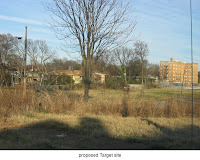 proposed site of Target, Poplar and Watkins, Memphis