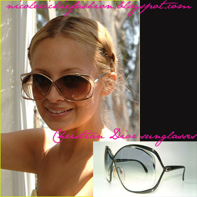 Nicole Richie wears Christian Dior 2056 vintage sunglasses. Buy it here