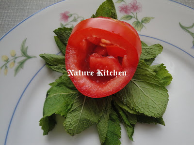 Vegetable Carving With Tomato Nature Kitchen:...