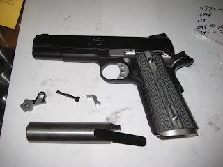 The Amateur Pistolero: New parts for the Kimber