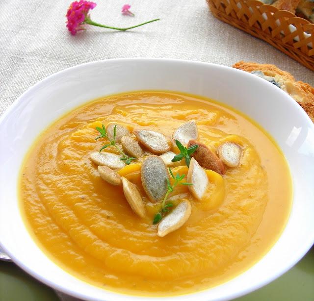 butternut squash or pumpkin pressure cooker soup
