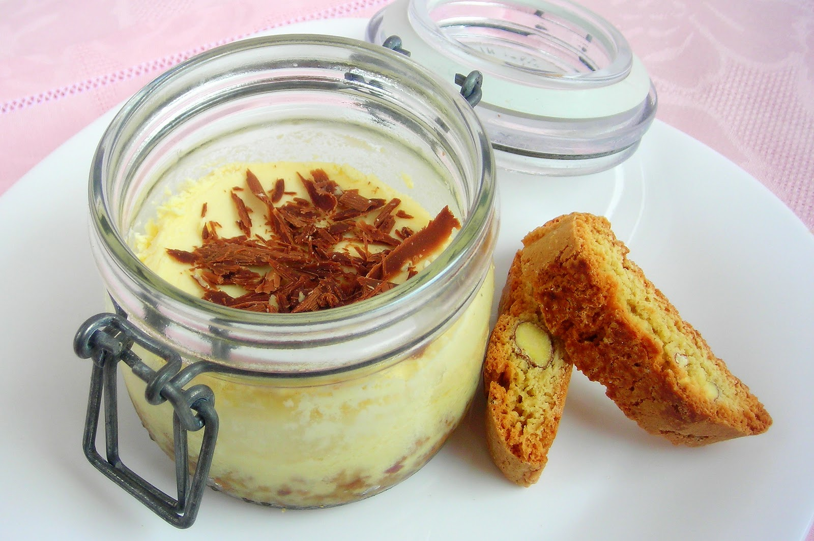 Simple Cake Recipes In Pressure Cooker: Limoncello Ricotta Cheesecake-in-a-jar
