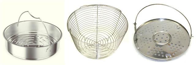 pressure cooker steamer baskets