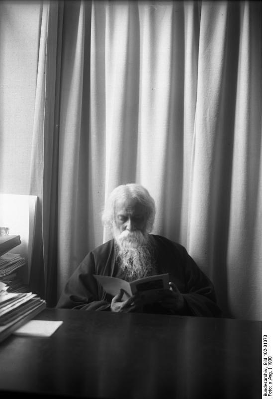 Rabindranath Tagore in Berlin - 1930