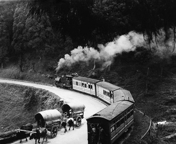 Darjeeling Hill Train - Bengal 1930's