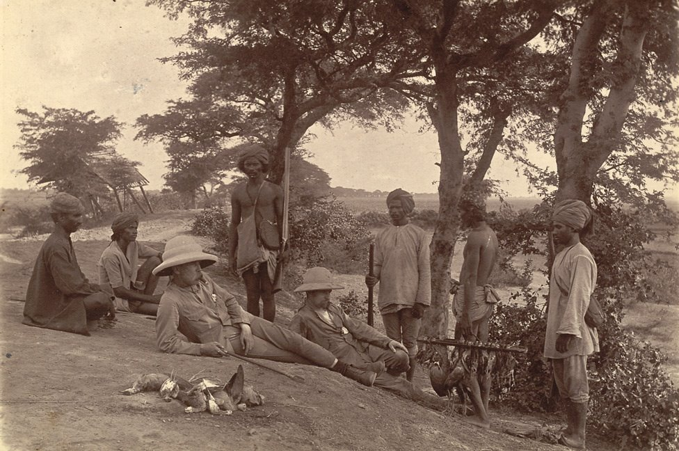 Rest after Hunting - Burma (Myanmar) 1886