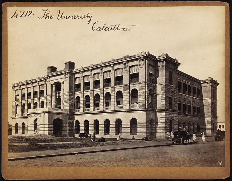 The Calcutta (Kolkata) University - Mid 19th Century