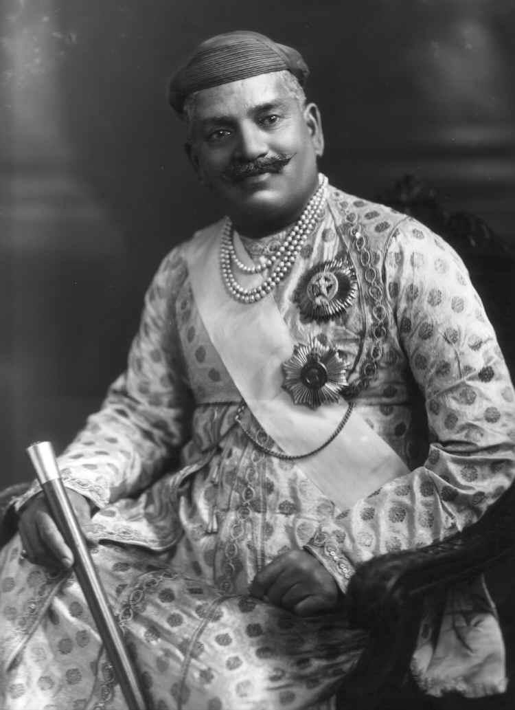 Maharaja Sayajirao Gaekwad III of Baroda - 1919