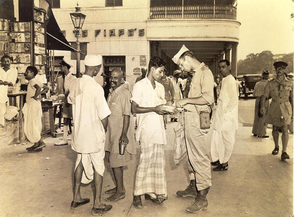 GI tourist in Calcutta 1945
