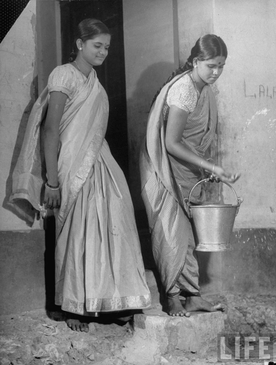 Two young Hindu women