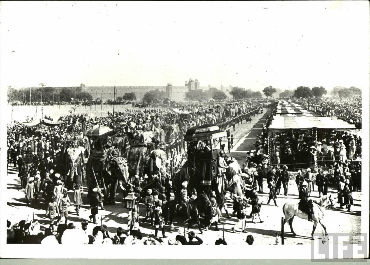 Delhi Durbar of 1903 - Old Indian Photos