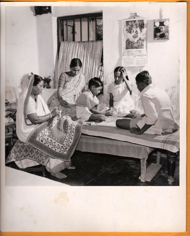 Indian Family Photo - Jamshedpur 1957