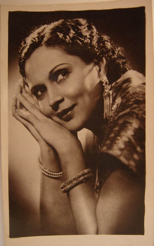 Indian Movie Actress Vintage Photograph