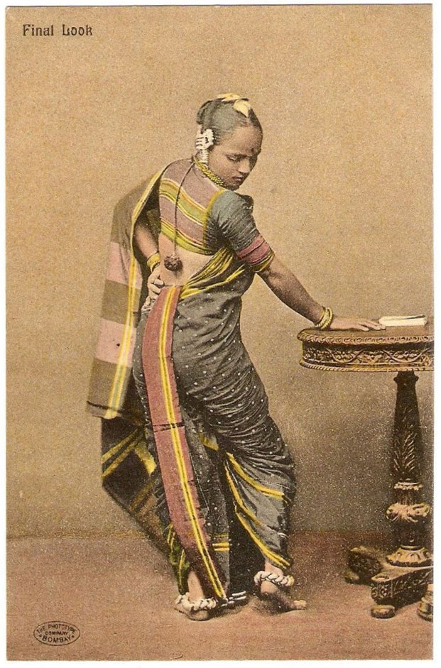 Final Look - Post Card of  a Maharashtrian Woman